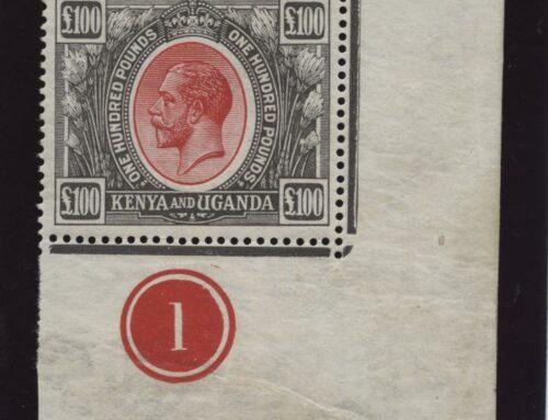 Media-aandacht veiling bijzondere postzegel